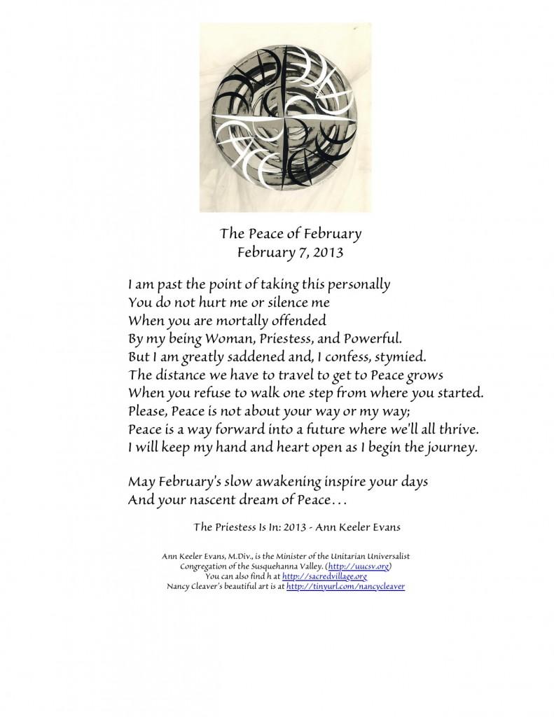 PeaceFebruary7