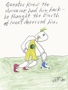 Questor Earth back A166