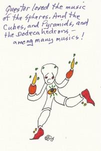 Questor loved music 1