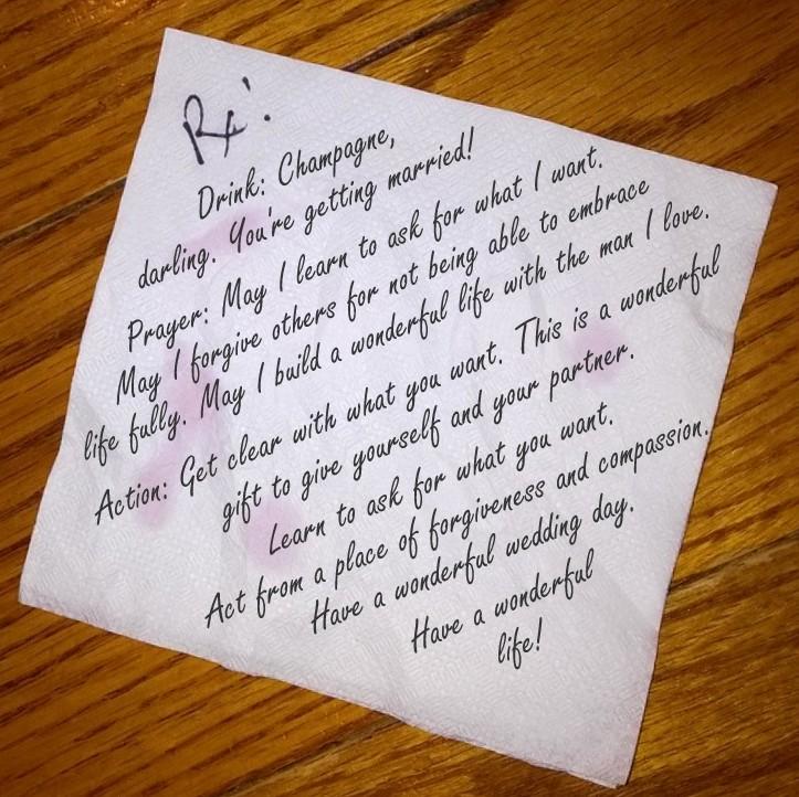 bnp gay marriage napkin